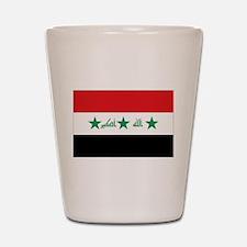 Flag of Iraq Shot Glass