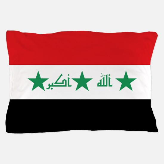 Flag of Iraq Pillow Case