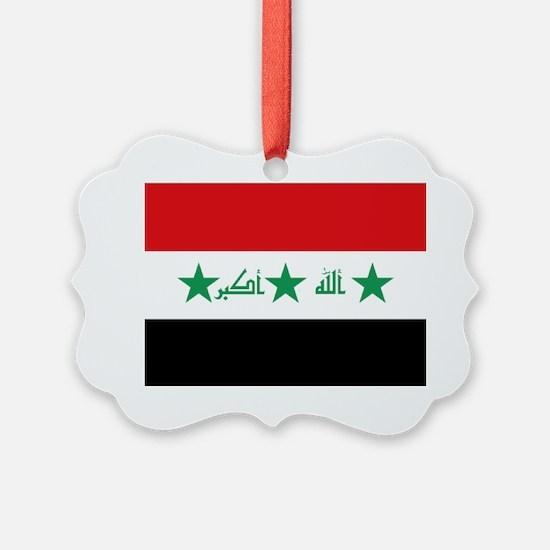 Flag of Iraq Ornament