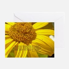 Blissful Thoughts Greeting Cards (Pk of 10)