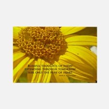 Blissful Thoughts Rectangle Magnet