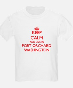 Keep calm you live in Port Orchard Washing T-Shirt