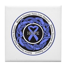 Anorexia Nervosa Hope Tile Coaster