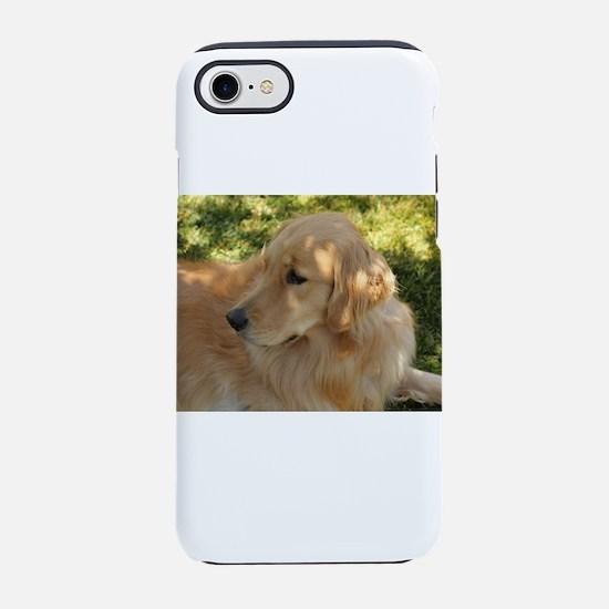 Nala the golden retriever in g iPhone 7 Tough Case