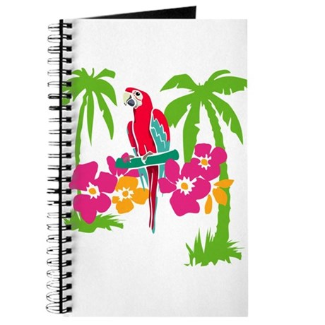 Resden Pretty Parrot Journal