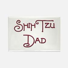 Shih Tzu Dad 15 Rectangle Magnet
