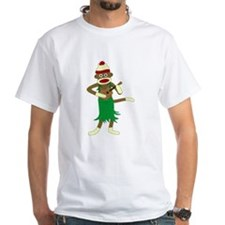 Sock Monkey Ukulele Hula Shirt