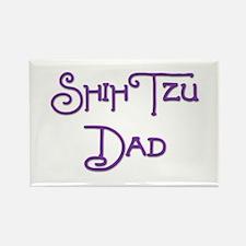 Shih Tzu Dad 17 Rectangle Magnet