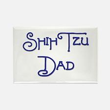 Shih Tzu Dad 18 Rectangle Magnet