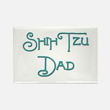 Shih Tzu Dad 19 Rectangle Magnet