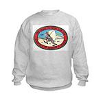 Iraq 100 Hour Fun Run Kids Sweatshirt