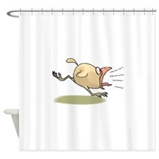 Crazy Chick Shower Curtain