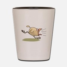 Crazy Chick Shot Glass