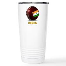 Funny India cricket Travel Mug