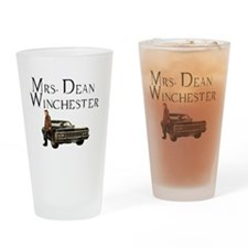 Mrs. Dean Winchester Drinking Glass