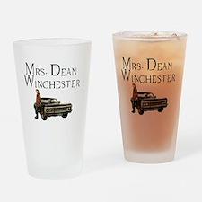 Mrs. Dean Winchester Drinking Glass