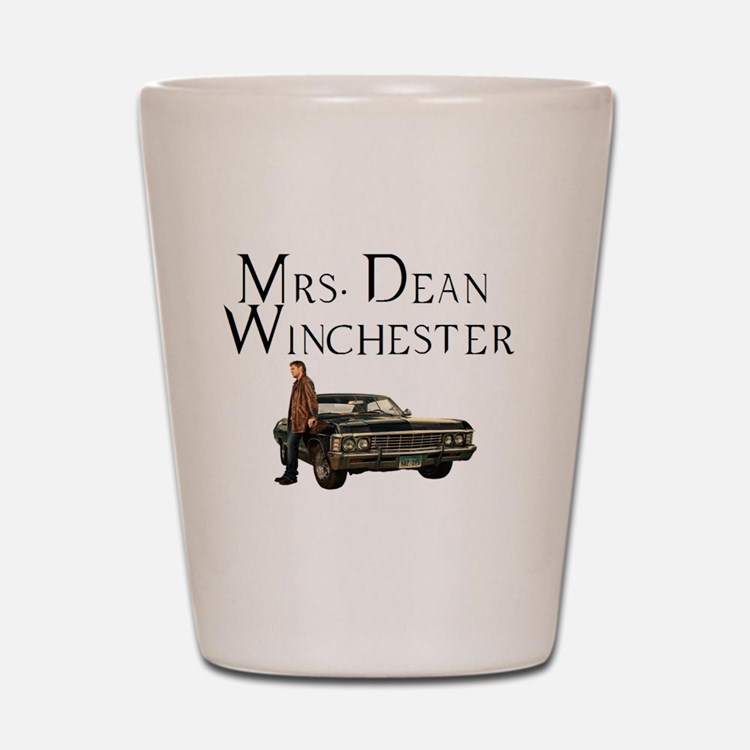 Mrs. Dean Winchester Shot Glass
