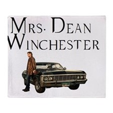Mrs. Dean Winchester Throw Blanket