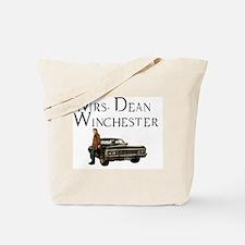Mrs. Dean Winchester Tote Bag