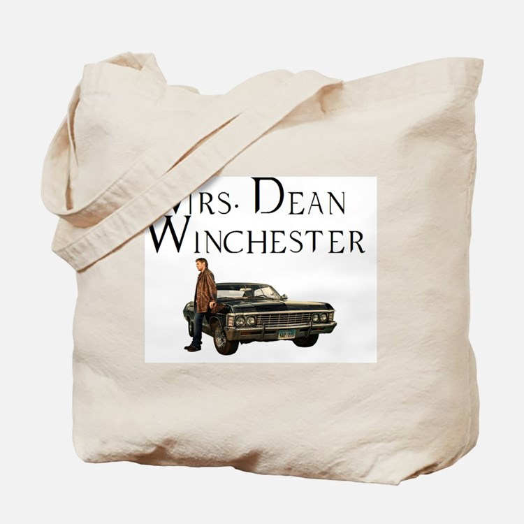 Mrs. Dean Winchester Tote Bag