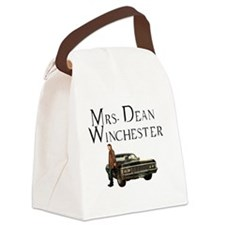 Mrs. Dean Winchester Canvas Lunch Bag