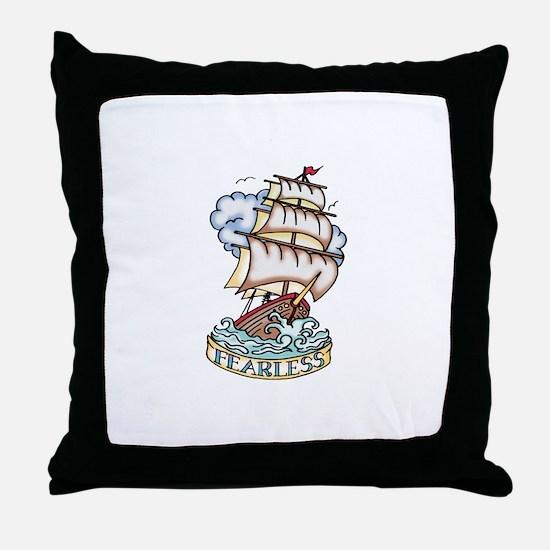 Throw Pillow - Sailor Tattoo
