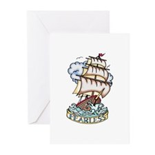 Greeting Cards (Pack of 6)  - Sailor Tattoo