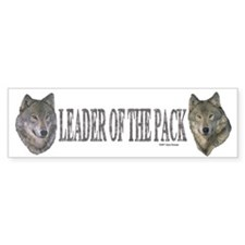 Leader of the pack Bumper Bumper Sticker