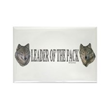 Leader of the pack Rectangle Magnet (100 pack)