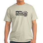 Physics Research Labs Logo Black transparent T-Shi