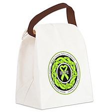 Lyme Disease Hope Canvas Lunch Bag