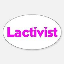 Lactivist Oval Decal