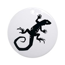 Lizard Ornament (Round)