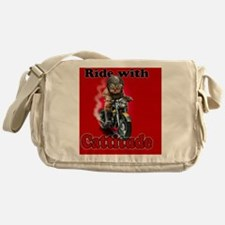 Ride with Cattitude Messenger Bag