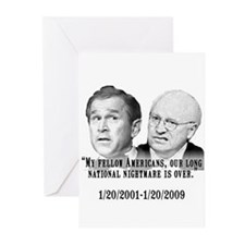 Our National Nightmare is Ove Greeting Cards (Pack