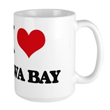 I Love Kawa Bay Mugs