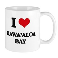 I Love Kawa'Aloa Bay Mugs