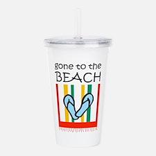 TO THE BEACH Acrylic Double-wall Tumbler