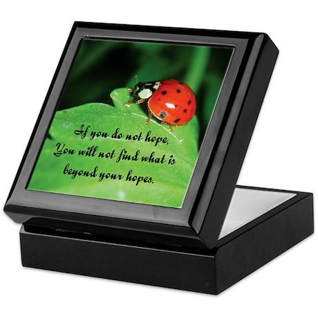Inspirational Keepsake Box