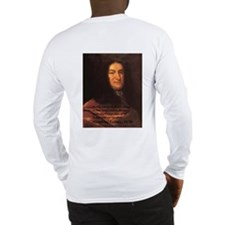 Long Sleeve T-Shirt: Philosophy: Hume & Leibniz