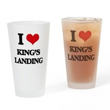 Cute King house Drinking Glass