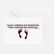 Leave nothing Greeting Cards (Pk of 10)