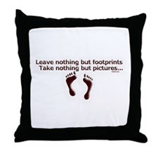 Leave nothing Throw Pillow