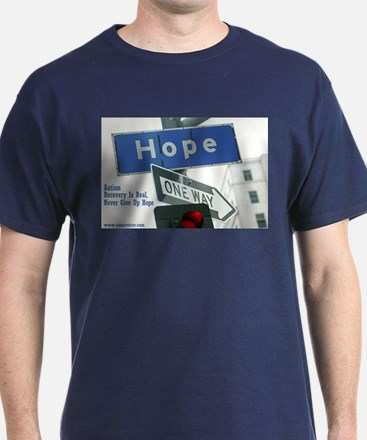 Autism is Treatable, Hope Dark Shirt
