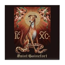 Saint Guinefort Tile Coaster