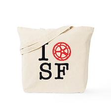 I Bike SF Tote Bag