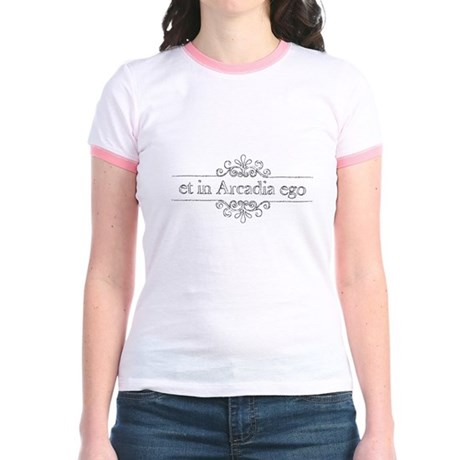 Et in Arcadia ego Jr. Ringer T-Shirt