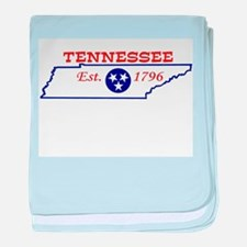 Unique Tennessee state university baby blanket