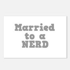 Married to a Nerd Postcards (Package of 8)
