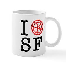 I Bike SF Mug
